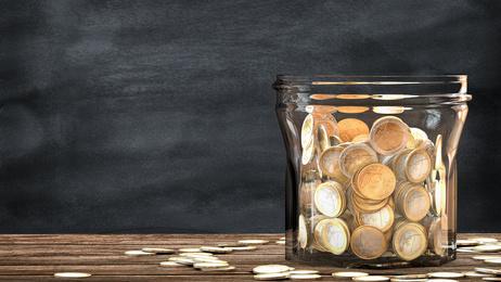 Glasvoll Geld